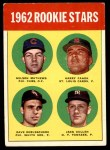 1963 Topps #54 TWO  -  Dave DeBusschere / Nelson Matthews / Harry Fanok / Jack Cullen 1962 Rookie Stars Front Thumbnail