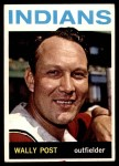 1964 Topps #253  Wally Post  Front Thumbnail