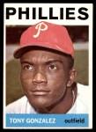 1964 Topps #379  Tony Gonzalez  Front Thumbnail