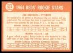 1964 Topps #524  Jim Dickson / Bobby Klaus  Back Thumbnail