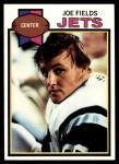1979 Topps #382  Joe Fields  Front Thumbnail