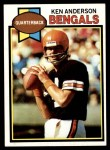 1979 Topps #115  Ken Anderson  Front Thumbnail