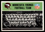 1965 Philadelphia #99   Vikings Team Front Thumbnail