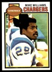 1979 Topps #459  Mike Williams  Front Thumbnail
