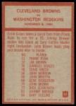 1965 Philadelphia #42   -  Blanton Collier   Cleveland Browns Back Thumbnail