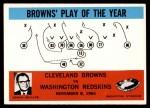 1965 Philadelphia #42   -  Blanton Collier   Cleveland Browns Front Thumbnail