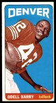 1965 Topps #45  Odell Barry  Front Thumbnail