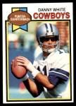 1979 Topps #429  Danny White  Front Thumbnail