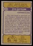 1979 Topps #365  Otis Sistrunk  Back Thumbnail