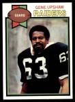 1979 Topps #260  Gene Upshaw  Front Thumbnail