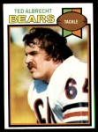 1979 Topps #72  Ted Albrecht  Front Thumbnail