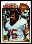 1979 Topps #476  Terry Hermeling  Front Thumbnail