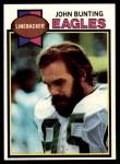 1979 Topps #521  John Bunting  Front Thumbnail