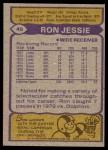 1979 Topps #45  Ron Jessie  Back Thumbnail