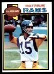 1979 Topps #409  Vince Ferragamo  Front Thumbnail