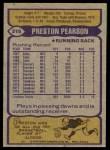 1979 Topps #315  Preston Pearson  Back Thumbnail