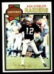 1979 Topps #520  Ken Stabler  Front Thumbnail