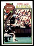 1979 Topps #68  Errol Mann  Front Thumbnail