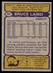 1979 Topps #69  Bruce Laird  Back Thumbnail