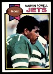 1979 Topps #63  Marvin Powell  Front Thumbnail