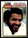 1979 Topps #385  Thomas Henderson  Front Thumbnail