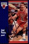 1991 Fleer #31  John Paxson  Front Thumbnail