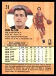 1991 Fleer #31  John Paxson  Back Thumbnail