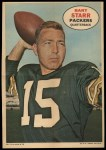 1968 Topps Poster Inserts #4  Bart Starr  Front Thumbnail