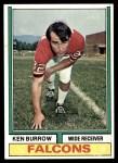 1974 Topps #473  Ken Burrow  Front Thumbnail