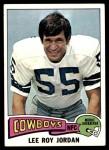 1975 Topps #285  Lee Roy Jordan  Front Thumbnail