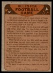 1974 Topps  Checklist   St. Louis Cardinals Team Back Thumbnail