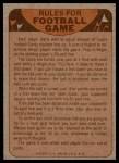 1974 Topps  Checklist   Giants Back Thumbnail