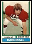 1974 Topps #181  Bob Rowe  Front Thumbnail