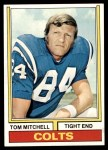 1974 Topps #248  Tom Mitchell  Front Thumbnail
