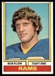 1974 Topps #152  Bob Klein  Front Thumbnail