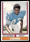 1974 Topps #224  Levi Johnson  Front Thumbnail