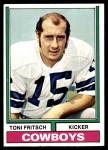 1974 Topps #223  Toni Fritsch  Front Thumbnail