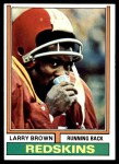 1974 Topps #260  Larry Brown  Front Thumbnail