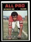 1974 Topps #136   -  Claude Humphrey All-Pro Front Thumbnail