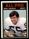 1974 Topps #138   -  Lee Roy Jordan All-Pro Front Thumbnail
