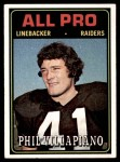 1974 Topps #139   -  Phil Villapiano  All-Pro Front Thumbnail