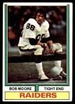 1974 Topps #168  Bob Moore  Front Thumbnail