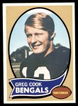 1970 Topps #235  Greg Cook  Front Thumbnail