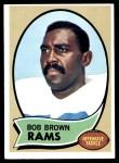 1970 Topps #178  Bob Brown  Front Thumbnail