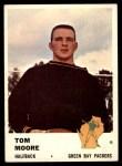 1961 Fleer #91  Tom Moore  Front Thumbnail