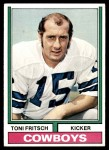 1974 Topps #223  Toni Fritsch  Front Thumbnail