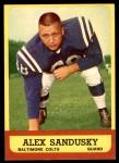 1963 Topps #6  Alex Sandusky  Front Thumbnail