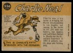 1960 Topps #556   -  Charlie Neal All-Star Back Thumbnail