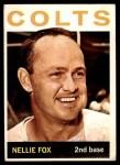 1964 Topps #205  Nellie Fox  Front Thumbnail