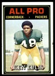 1974 Topps #140   -  Ken Ellis  All-Pro Front Thumbnail